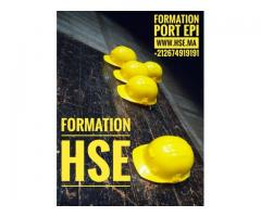 Maroc HSE Formation échafaudages