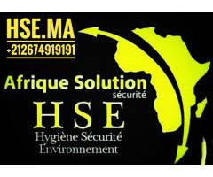 Maroc HSE formation HSE