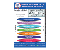 Formation pratique en Marketing et Management
