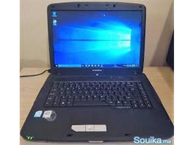 vente  un pc acer emachines - 4/5
