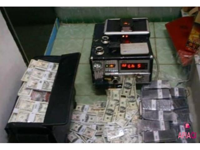 Defaced currencies cleaning CHEMICAL and MACHINE - 8/8