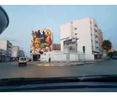 Magasin commercial rabat diour jamaa 450m  loyer t
